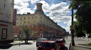 Ижевск Советская улица лето дорога