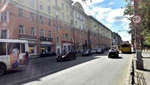 Ижевск Советская улица лето дорога 2